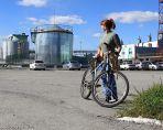 Оксана. Велопрогулка на станция Инская.