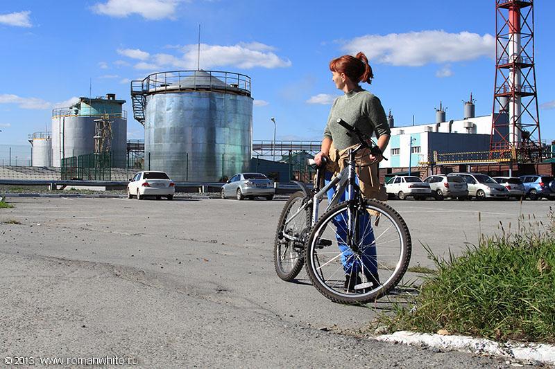 Велопрогулка на станция Инская.